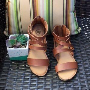Girls Gladiator Sandals 🌼🎊❤️😍